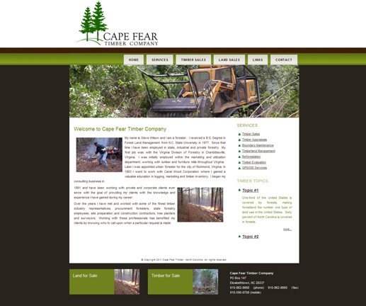 Cape Fear Timber