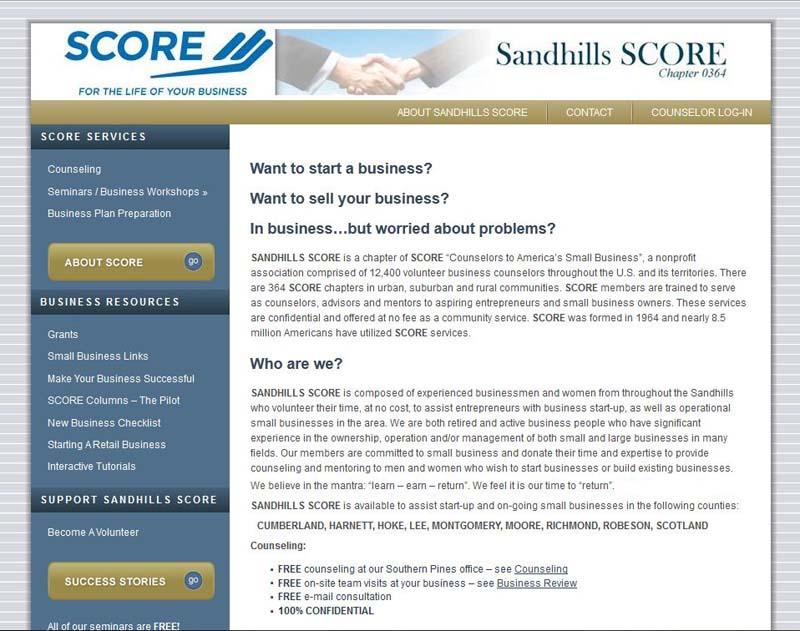 Sandhills-Score